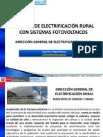 3 Miguel Ramos - Proceso de Electrificacion Rural