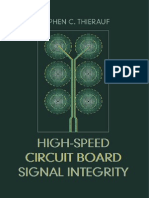 Hardware - High Speed Circuit Board Signal Integrity