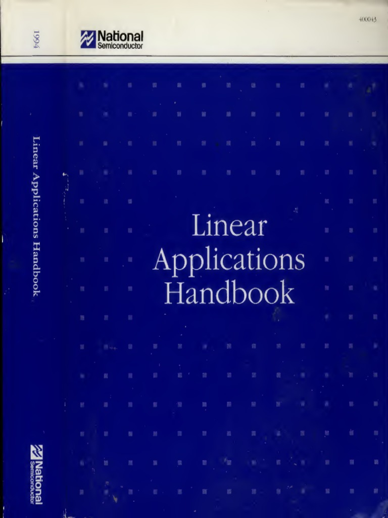 Linear Applications Handbook Regulated Dual Polarity Power Supply By Lm317 And Lm337 1540145774v1