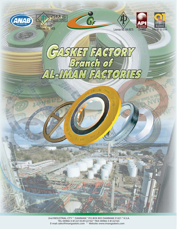 Gasket Catalogue   Pipe (Fluid Conveyance)   Ilmu Kimia