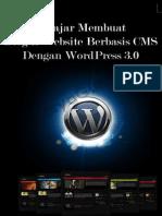 eBook Belajar Membuat Blog & Website Berbasis Cms Dengan Wordpress 3.0
