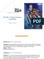 1311 SAP Manufacturing Integration and Intelligence