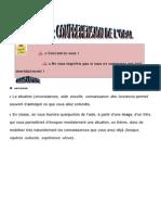 Methodologie Comprehension Oral Student's Worksheet