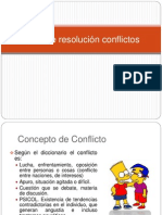Taller de Resolucion Conflictos