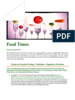 Food Times - August 2014