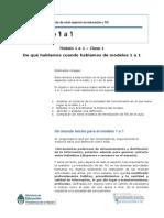 Modelo 1a1 Clase 1 2014