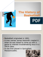 the history of basketball