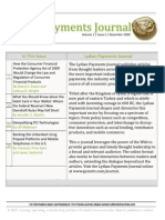The Lydian Payments Journal Vol1 No2 (December, 2009)