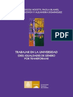 Libro Trabajar en La Universidad