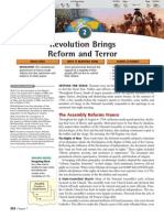 the revolution brings reform and terror