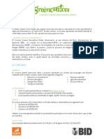 Bases Del Concurso Greenovators