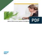 Mexico E-Invoicing Configuration Guide-1.1