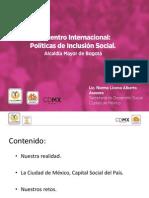 Políticas de Inclusión Ciudad de Mexico