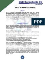 Reglamento Interno de Trabajo Dfs