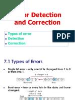 Error Detection Correction