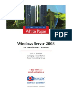 Windows Server 2008, An Introductory Overview