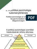 2  A politikai pszichológia tudománytörténete.pps