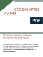 Evolução Das Artes Visuais 08 de Setembro