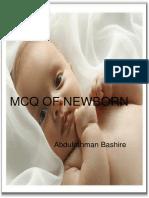 Newborn MCQ