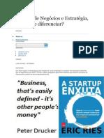 Modelo de Negócios e Estratégia