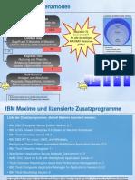 130613 SolutionConnect MAXIMO Roadmap 2013 - V15 (Lizenzen Auszug)