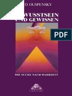 P.D. Ouspensky - Bewusstsein Und Gewissen