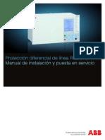 Manual Protección Diferencial de Línea RED670