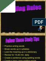ESP, Spelling Rules