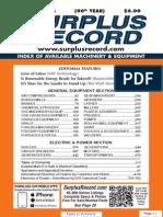 OCTOBER 2014 Surplus Record Machinery & Equipment Directory