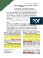 Avaliação Da Escala de Motivação Acadêmica Em Estudantes Paulistas Propriedades Psicométricas (Joly & Prates, 2001)