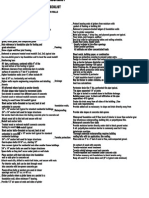 Foundation Check List