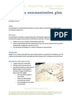 Creating a Communication Plan for Whole School Involvement