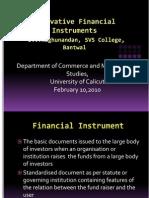 innovativefinancialinstruments-100213184440-phpapp01