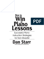 Piano Lessons by Dan Star