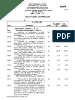Tabulador de Precios Caem 2007