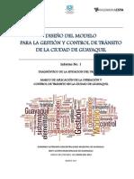 Modelo de Gestion de Transito EPMTG - Informe 1