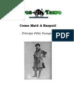 Yusupov, Felix - Como Mate a Rasputin