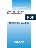 CJ1M CPU Units with Ethernet Functions