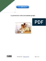 Present Troisieme Groupe Exercices