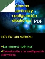 2- Numeros Cuanticos y Configuracion Electronica Clase