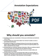 collegiate annotation ppt
