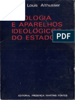 ALTHUSSER - Ideologia e Aparelhos Ideológicos Do Estado