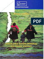 Hacia Una Vision Integral Del Riego Andino