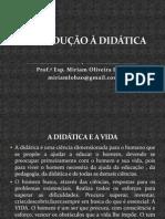 1 Introdução à Didática