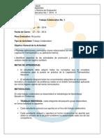 Act.6 Trabajo Colaborativo No. 1 - 2014 - 2