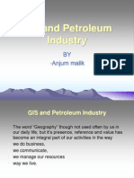 GIS and Petroleum Industry