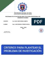 Planteamiento de Un Problema - José Rodrigo Torres Huacal