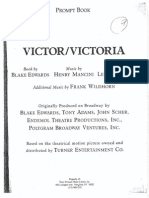 Victor Victoria Script