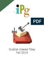 IPG Fall 2014 Scottish Interest Titles