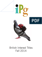 IPG Fall 2014 British Interest Titles